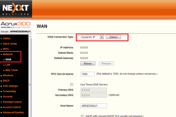 como configurar router nexxt