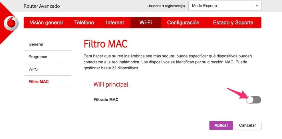 filtro-mac-router-vodafone