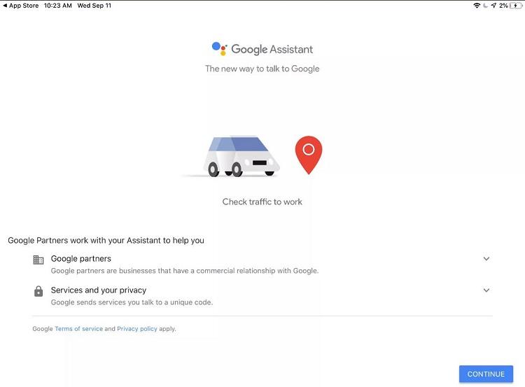 asistente de google para apple