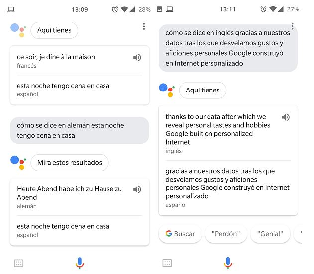 usar ok google como traductor
